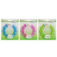Junior Macare Water Filled Bead Ring Teether 3m+