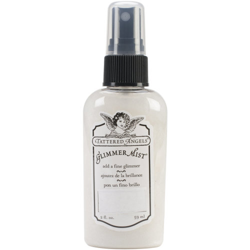 Tattered Angels Glimmer Mist 2oz-Iridescent Silver