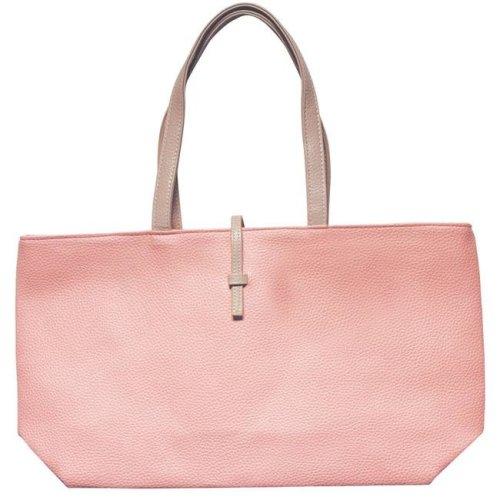 Art Fashions of Europe AB-8134 TURQ 14 x 6 x 13 in. Fancy Zipper Handbags, Pink