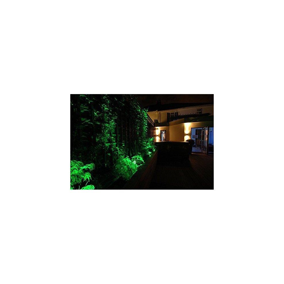 Led Rgb Automatic Colour Changing Gu10 Outdoor Garden Ground Spike Spot Light Home & Garden Outdoor Lighting