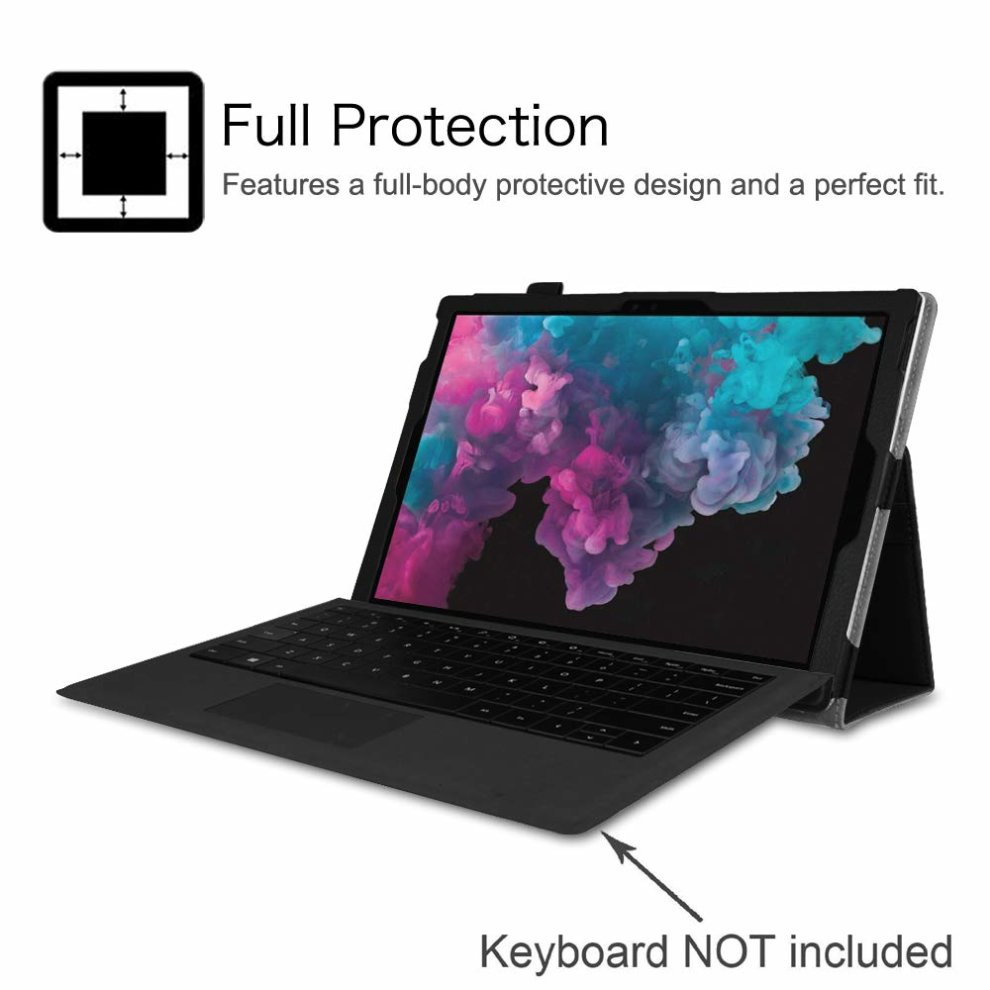 microsoft surface pro 6 case with keyboard
