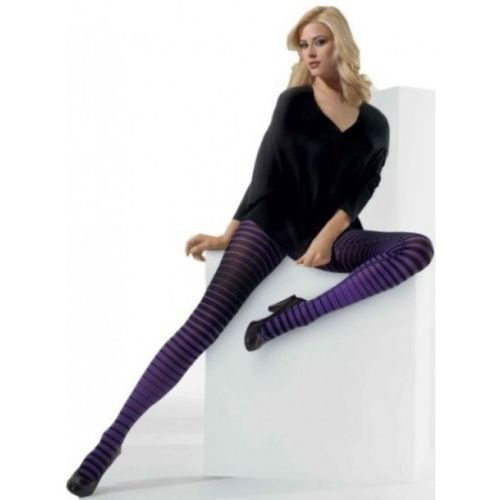 025c3111714 Cette Georgia Tights - Funky Fashion Striped Tights on OnBuy