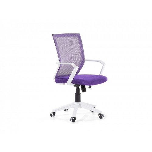 Adjustable Height Purple Mesh Office Chair RELIEF