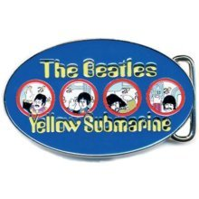 Loud Distribution - The Beatles Belt Buckle Yellow Submarine Portholes Blue -  beatles yellow submarine cast metal belt buckle new official tag