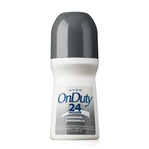 Avon On Duty Original Bonus Size Roll-On Anti-Perspirant Deodorant (Lot of 2)