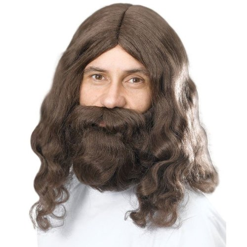 Jesus Wig & Beard Set | Christmas