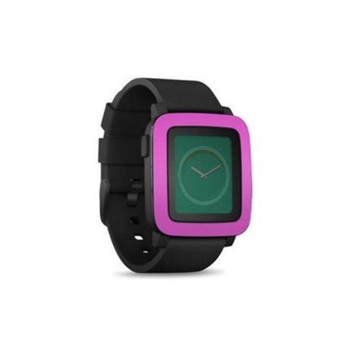 DecalGirl PSWT-SS-VPNK Pebble Time Smart Watch Skin - Solid State Vibrant Pink