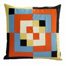 Home Decorative Cotton Canvas Square Throw Pillow Cover [Eclectic]