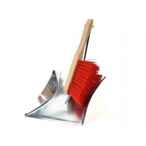 Metal Dust Pan and Brush Set Dustpan and Hand Brush Dustpan Galvanised Dustpan and Brush