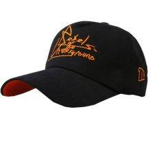 No Shave Baseball Cap Adjustable Sun Hat Cool Baseball Hats for Men Black