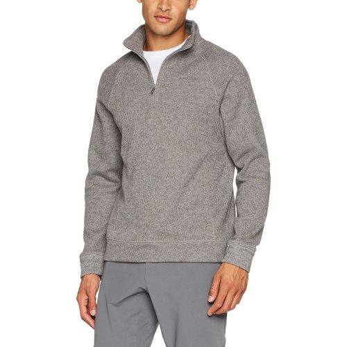 Craghoppers Men's Norton Half Zip Norton Outdoor Fleece Top, Quarry Grey Marl, Medium