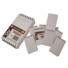 Pack Of 8 Spiral Top 40 Sheet Memo Books