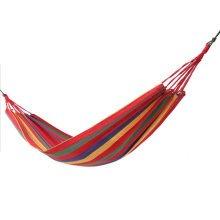 Single Person Cotton Canvas Outdoor Hammock Travel Camping Hammocks 80*185CM-A2