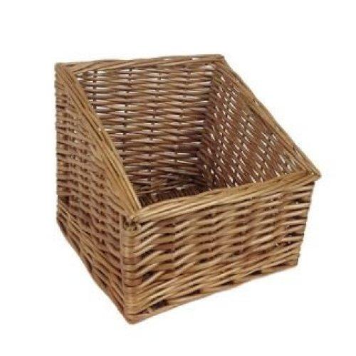 Small Farm Shop Display Wicker Basket