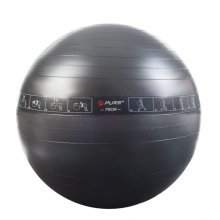 Pure2Improve Exercise Ball Black P2I200080