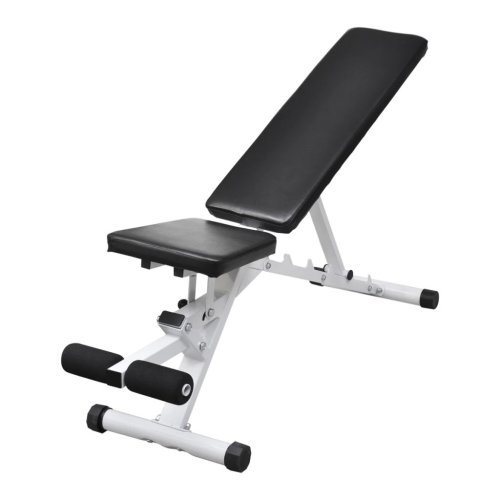vidaXL Fitness Workout Utility Bench Exercise Weightlifting Machine Sports Home