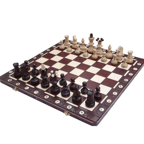 Ambassador Lux, Limited Edition, Solid Wood, Chess Set