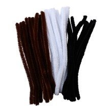45 Earth Pipe Cleaners Extra Fluffy 30cm x 15mm