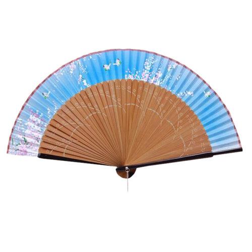 Elegant Hand Fan Portable Folding Fan Carved Handheld Fan Chinese Fans #09
