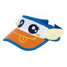 Adjustable Cute Baby Unisex Peak Cap Wide Brim Hat-Wings,Blue/Orange