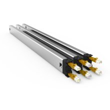 PATCHBOX Plus+ STP Rack Cable tray Black, Silver, Yellow 3pc(s)