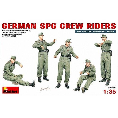 Min35054 - Miniart 1:35 - German Spg Crew Riders