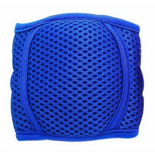 Baby Crawling Knee Pads Adjustable Elbow Protector Pads For Toddlers, Royal Blue