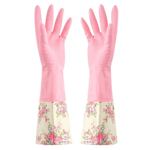 More Durable Clean Rubber Gloves To Wash Cleaning Gloves Waterproof Gloves