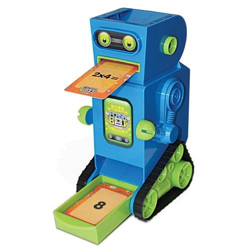 Junior Learning Flashbot Flashcard Robot Includes 20 Demonstration Flashcards