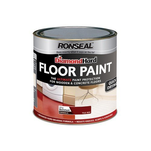 Ronseal 36256 Diamond Hard Floor Paint Pebblestone 2.5 Litre