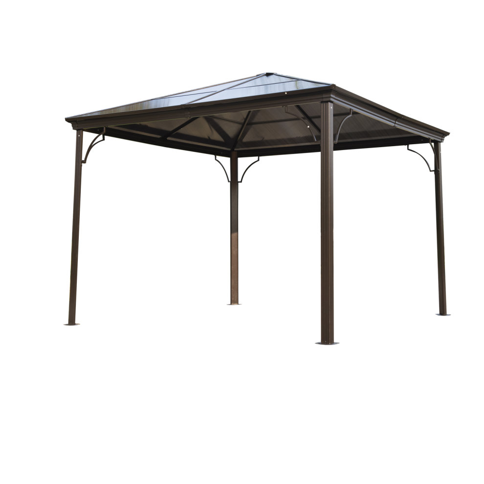 Heart Touching Ideas Of Gazebo Roof Or Cover: Outsunny 3 X 3m Garden Gazebo Outdoor PC Board Roof Canopy
