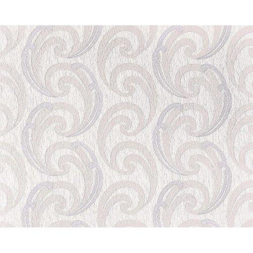 EDEM 915-34 XXL non-woven wallpaper luxury textured pattern cream rose 10.65 sqm
