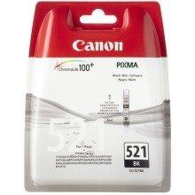 Canon Cli-521 Bk Black Ink Cartridge