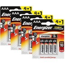 20 x Energizer AAA Alkaline Power Plus Batteries - LR03, MX2400, MN2400, MICRO