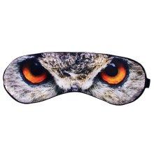 Creative Silk Cartoon Eye Mask Eye Shade Blindfold Shade Cover For Sleep OWL