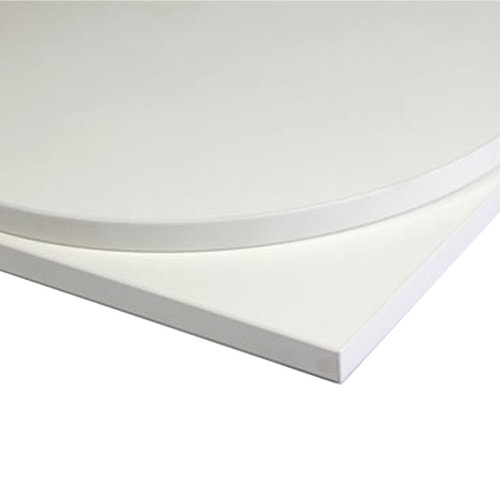 Taybon Laminate Table Top - White Square - 600x600mm