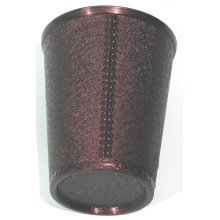 Black dice cup, plastic - 00590