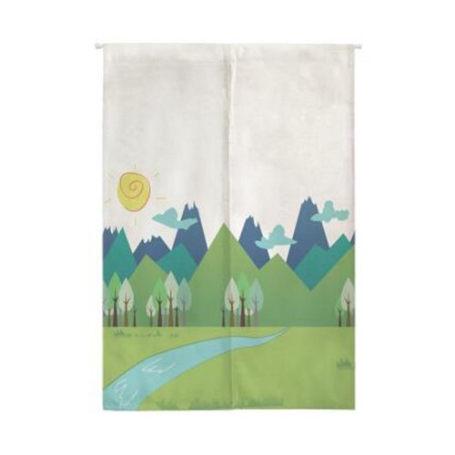 Fashion Artistic Doorway Curtain / Tapestry Bedroom Curtain for Store/Household, #L16