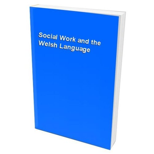 Social Work and the Welsh Language