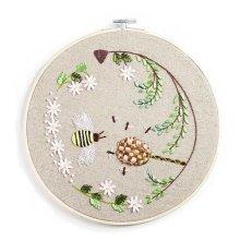 DIY Embroidery Kits Handmade Holiday Gifts Beautiful Ornaments