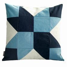 Without Insert, Flower Pattern Square Decorative Pillow Cover