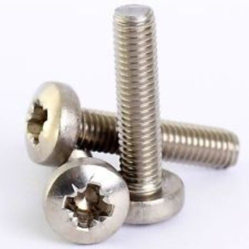 10 x M4 x 20mm Posi Pozi Pan Head BZP Machine 4mm Screws