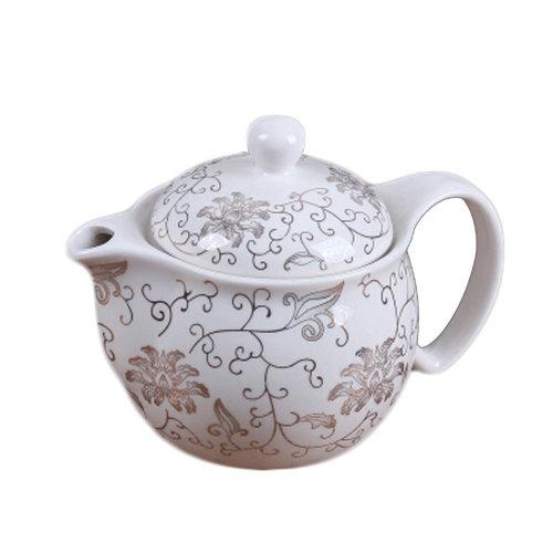 Porcelain Tea For Home Decor And Teas pot Chinese style Elegant Tea Kettle