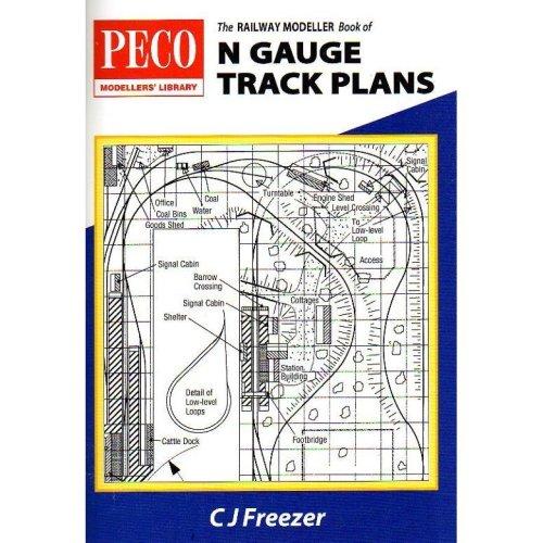 N gauge track plans - Peco publications PB-4
