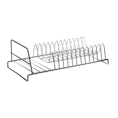 12 Plate Dish Drainer - Chrome