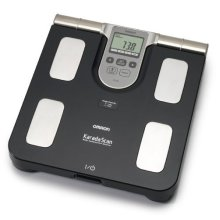 Omron Bf508 Body Composition Monitor -  body omron monitor bf508 composition scale fat bathroom weighing bmi