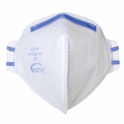 sUw - Pack of 20 FFP2 Protective Adjustable Fold Flat Flexible Respirators