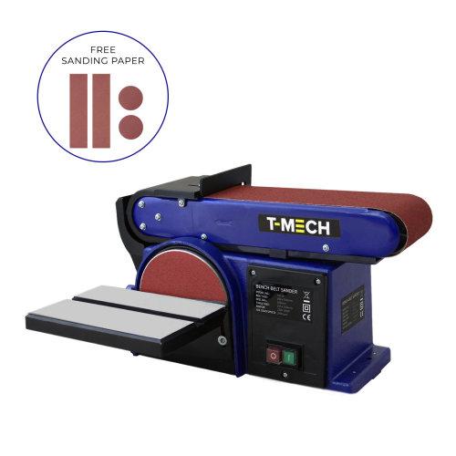 Bench Belt Disc Sander Heavy Duty Electric Mitre Sanding / 500W 230V