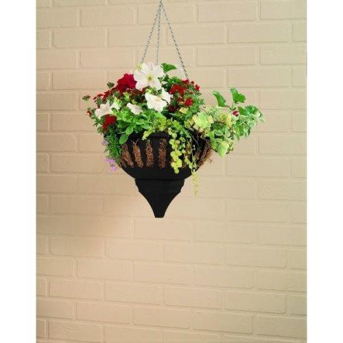 Small Aqua Lock Hanging Basket Colour May Very