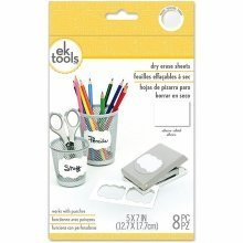 EK Success 8pc Adhesive Dry Erase Sheets